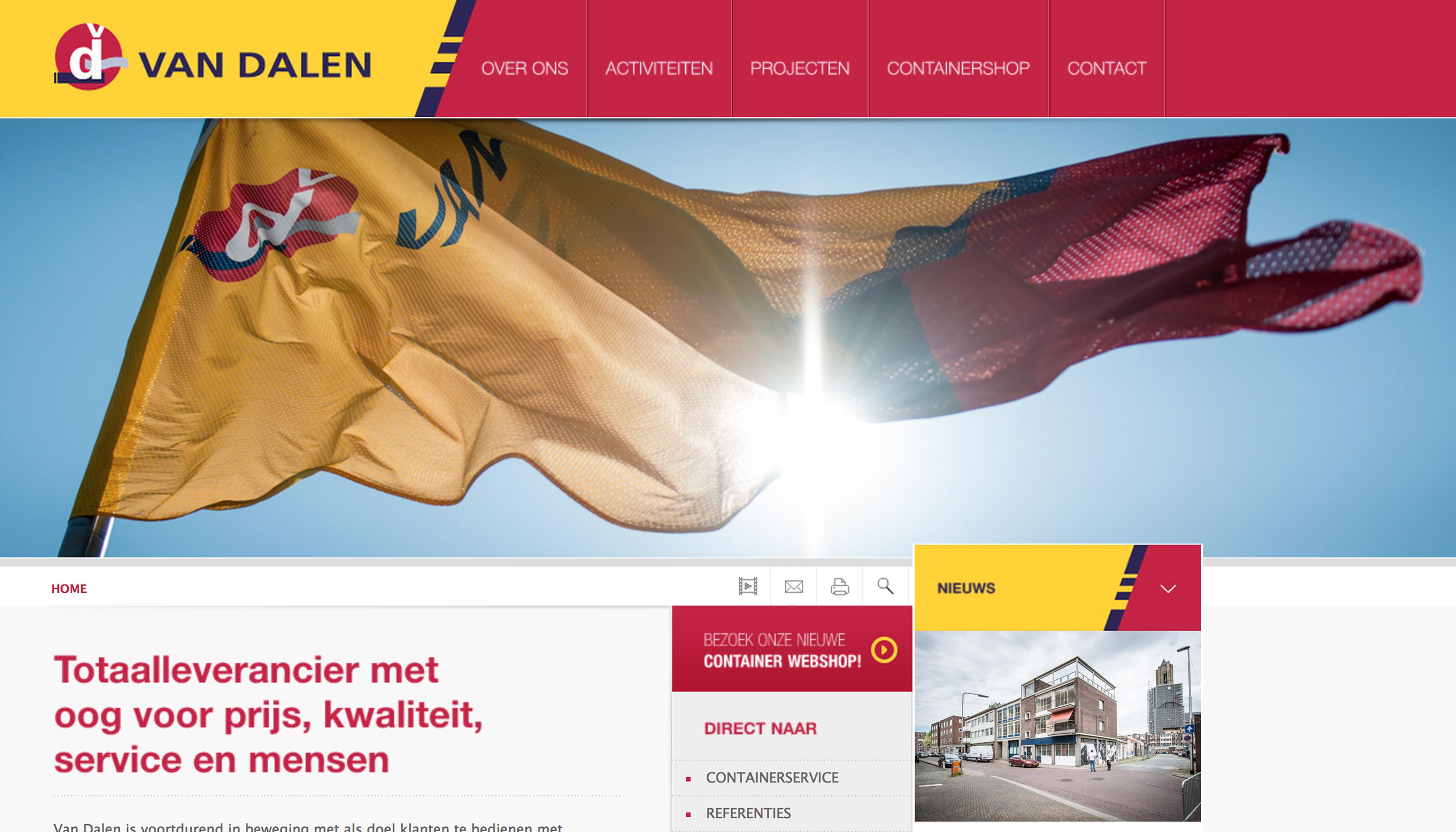 Nieuwe website Van Dalen-1